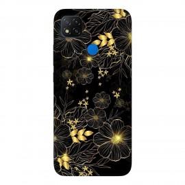 Xiaomi Redmi 9C кейс Златни цветя