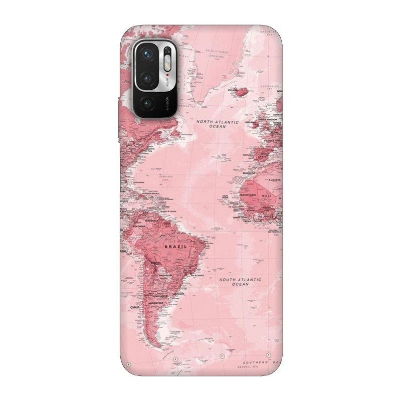 Xiaomi Redmi Note 10 5G кейс Розова карта