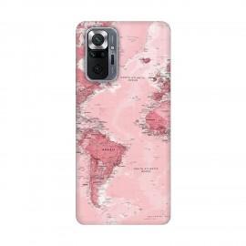 Xiaomi Redmi Note 10 Pro кейс Розова карта