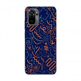 Xiaomi Redmi Note 10 кейс Чертички