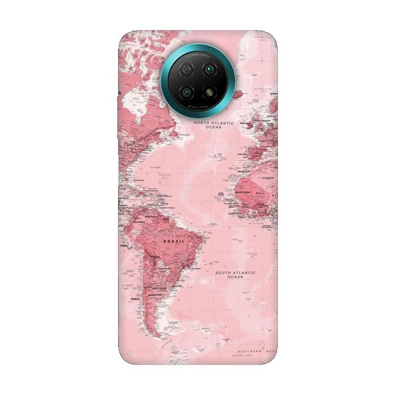 Xiaomi Redmi Note 9Т кейс Розова карта